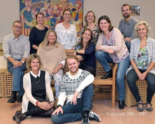 Koorschool Haarlem - Koorschool team