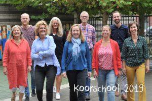 Koorschool-Haarlem-Koorschool-team 2019 - 2020