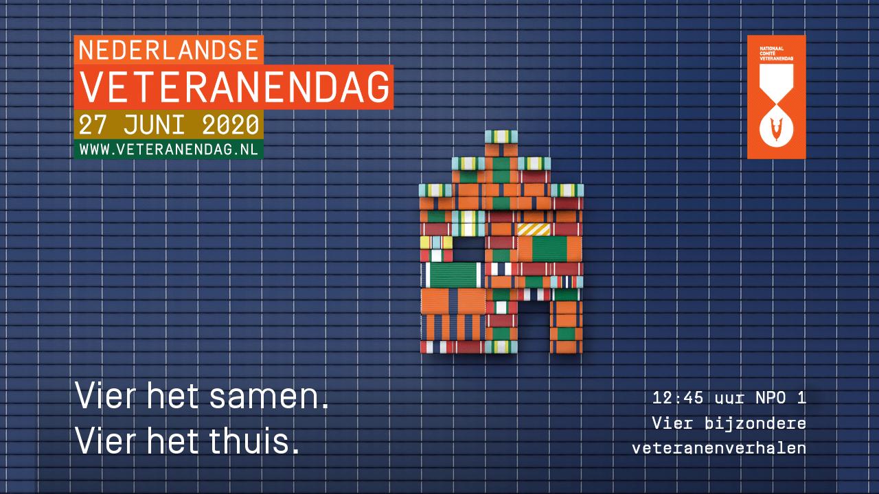 27 juni – Nederlandse Veteranendag 2020